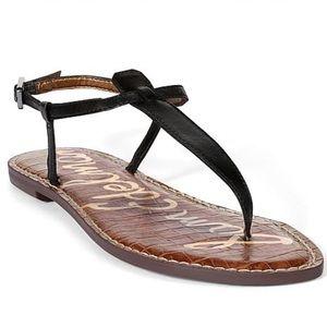 Sam Edelman Gigi Black Thong Sandals